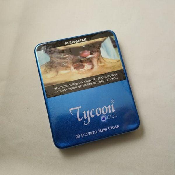 Tycoon Click Menthol Mint Mini Cigarillos (Tin-20) - Cerutu Kecil