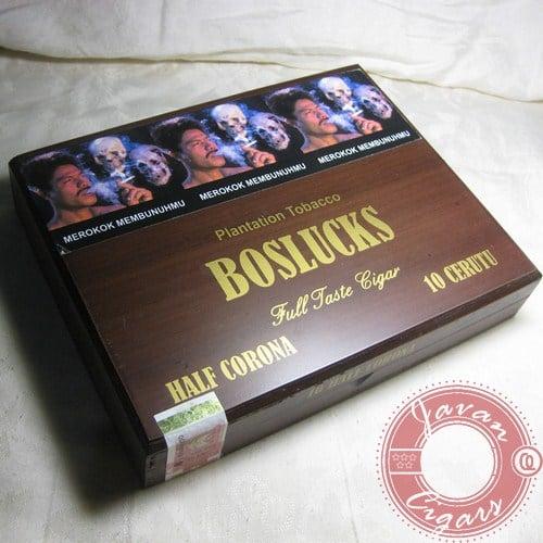 Cerutu Boss Image Half Corona Box-10 (Wood Box)