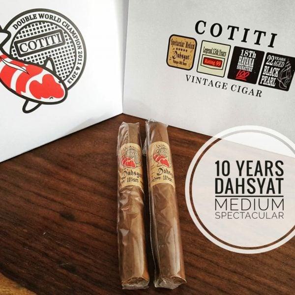 Cotiti 10 Year Robusto Vintage Cigar (Per-Stick) Cerutu Limited