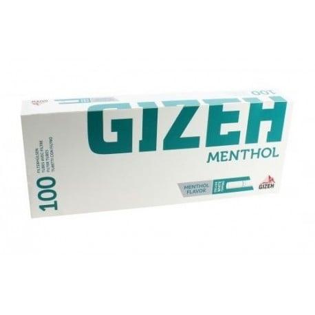GIZEH Menthol Tip (100 pcs) - Cigarette Filter Tube / Selongsong Rokok