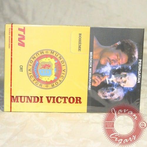 Cerutu Mundi Victor Boheme Box Isi 10