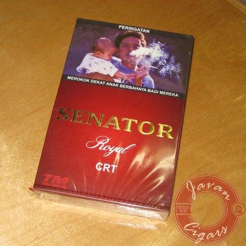 Cerutu Senator Royal Box Isi 10