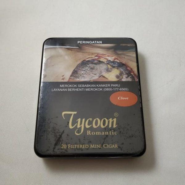 Tycoon Mini Cigarillos Clove (Tin-20) - Cerutu Kecil Aroma Cengkeh