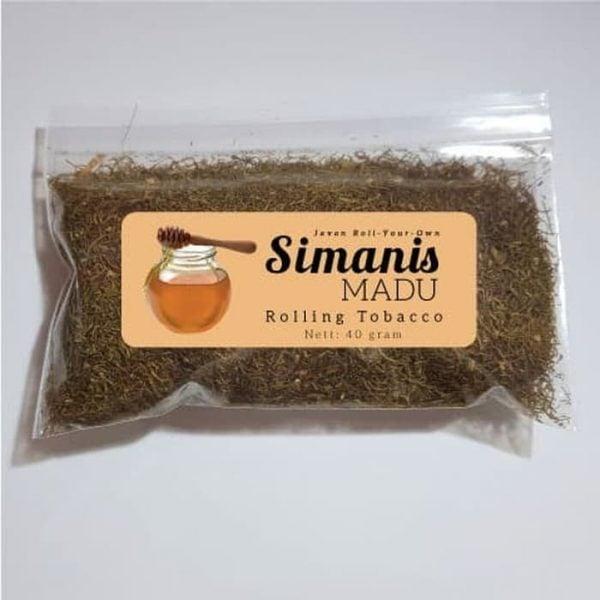 Tembakau Javan RYO Simanis Madu (Bulk 40 g) - Linting Tingwe Shag