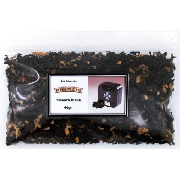 Tembakau Pipa Cangklong Sillems Black Bulk (40 gr) Pipe Tobacco